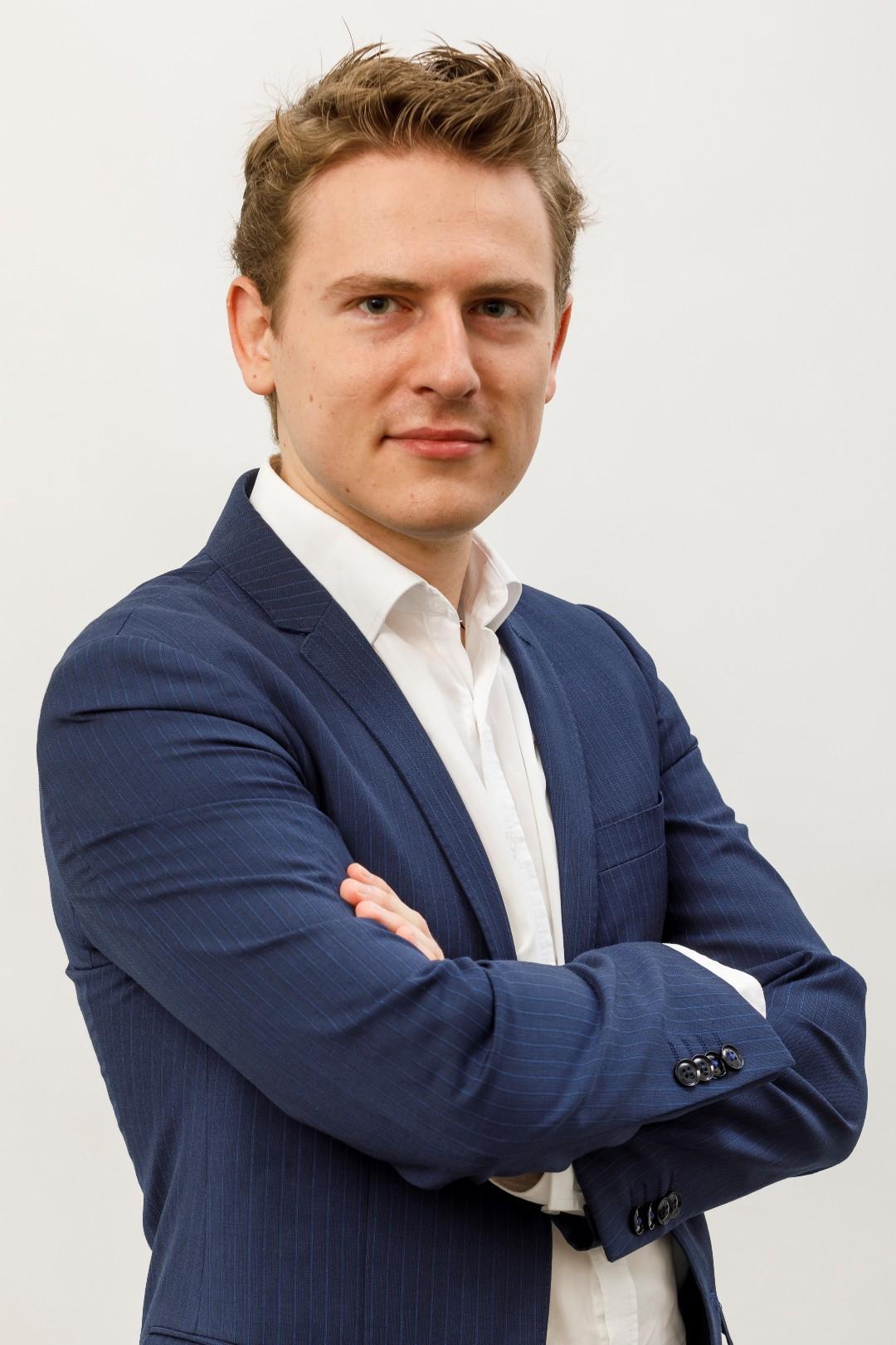 foto van de spreker Pieter-Jan Wouters